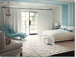 midcentury inspired blue and white bedroom bedroom white