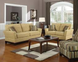 cream couch living room ideas:  agreeable small living room ideas sets with grey wall design and cream sofa also wooden coffe
