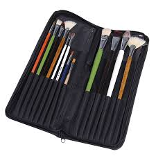 online get cheap writing lessons com alibaba group 16 slot oxford cloth art paint brush writing brush pen knife zipper storage holder organizer