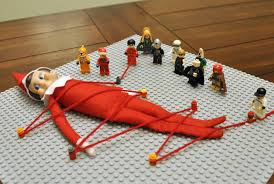 Uh-oh. Elf on the Shelf gets waterboarded. And other Elf memes ... via Relatably.com