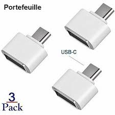 Portefeuille <b>3PCS USB 3.1 Type</b> C OTG Adapter for Xiaomi mi6 mi ...