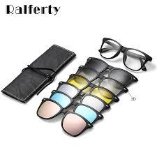 Ralferty Magnetic <b>Sunglasses</b> Women Clip On <b>Sunglass Men</b> ...