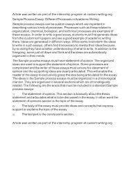 write a process essay professional writing service write a process essay