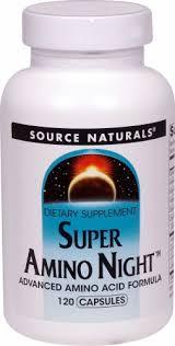 Source Naturals Super Amino Night™, 120 Capsules - Mariano's