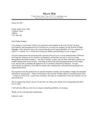 interesting sales manager and business development position cover sales cover letters samples