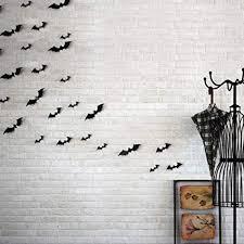 Baomabao 12pcs Black 3D DIY PVC Bat Wall Sticker ... - Amazon.com