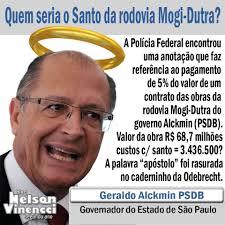 Resultado de imagem para santo alckmin