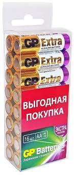 <b>Батарейка GP Extra</b> Alkaline AA — купить по выгодной цене на ...