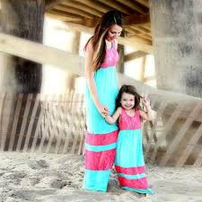 Bharat Ventures <b>Family Matching Outfits</b> Summer Mother Daughter ...