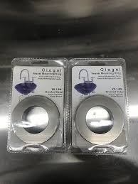 LOT OF 2 GIAGNI VR-1-PC BRUSHED NICKEL <b>VESSEL</b> ...
