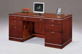 simple and minimalist wooden office desk for your home attractive wooden office desk
