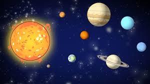Resultado de imagem para sistema solar
