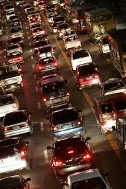 manila traffic the agony out the ecstasy latitude news vehicles line up in a traffic jam