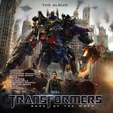 Soundtrack <b>Transformers</b>: <b>Dark</b> Of The Moon - The Album (Coloured ...