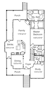 Peterman Southern Style Home Plan S    House Plans and MoreColonial House Plan First Floor   S    House Plans and More