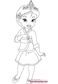 Small Picture Little princess coloring pages download and print for free disney