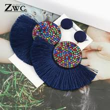 ZWC <b>Fashion</b> Bohemian Tassel <b>Vintage Statement</b> Drop Earrings for ...