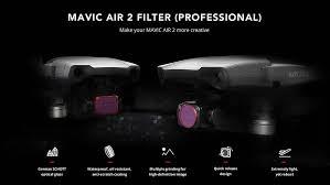 Фильтры PGYTECH для <b>DJI</b> Mavic Air 2