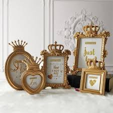 <b>1</b> Piece 5 Model <b>Luxury Baroque</b> Style Gold Crown Decor Creative ...