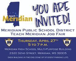 meridian public school district teach meridian job fair