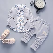 <b>Kid Baby Boy Gentry</b> Clothes Set Formal Party Christening Wedding ...