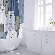 <b>Штора для ванны</b> Bear 180x200 см, полиэстер в Москве – купить ...