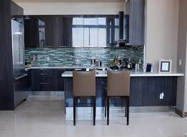 Beautiful Kitchen Backsplash Glass Tile Blue Tiles For In The Jeweltoned With Design