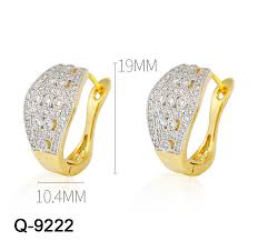 China <b>Fashion Jewelry 925</b> Sterling Silver Gold Plated Jewellry (Q ...
