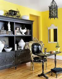 Idee Per Ufficio In Casa : Arredare con il giallo un colpo di sole dentro casa