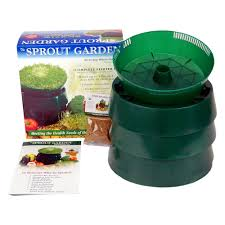 Kitchen Garden Sprouter Handy Pantry Sprout Garden Stackable Tray Countertop Sprouter