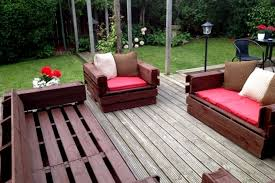 Outdoor Pallet Furniture Landscaping Gardening Ideas  H