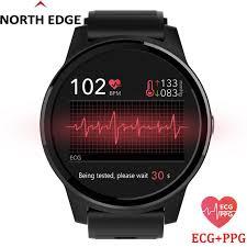 <b>NORTH EDGE</b> E101 <b>Smart Watch</b> Men Blood Pressure <b>Smartwatch</b> ...