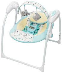 <b>Электронные качели AmaroBaby</b> Swinging Baby Turquoise ...