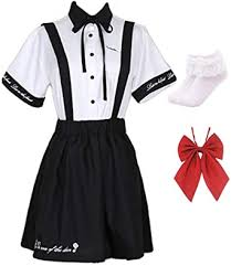 Topin Sweet Japanese School Girl Overalls JK ... - Amazon.com