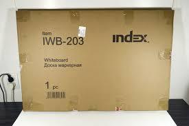 Обзор на Доска магнитно-маркерная Index <b>60x90 см</b> ...