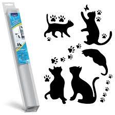 <b>Комплект наклеек на</b> холодильник Topperr Кошки — купить по ...