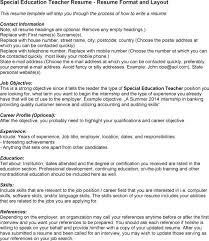 special education teachers resume   sales   teacher   lewesmrsample resume  special education teacher exle resume