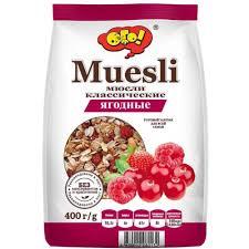 Купить <b>Мюсли</b> Готовые завтраки ОГО! <b>Мюсли</b> ягодные 400 гр в ...