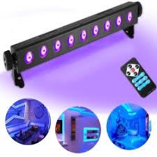 <b>UV Black Light</b> SOLMORE 3W x 9LEDs <b>UV</b> Bar Ultra <b>Violet LED</b> ...