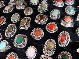 <b>Wholesale</b> Lots Mixed <b>Jewelry 20pcs</b> Assorted Natural Stone Tribal ...