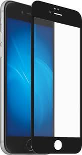 <b>Закаленное стекло DF</b> с цветной рамкой (fullscreen) для iPhone 7 ...