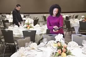Event Planning Questions to Ask Your Potential Clients Businesswoman using tablet computer in dining room