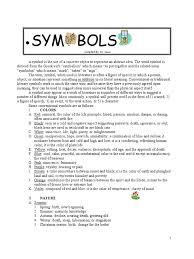 symbolism in literature examples symbolism in literature symbols color