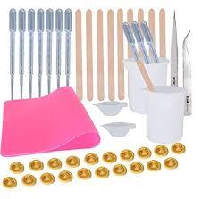 Epoxy Resin Tools Kit-- <b>1pc</b> A4 <b>Silicone</b> Sheet, 2pcs 100ml <b>Silicone</b> ...