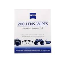 <b>Zeiss Lens</b> Cleaning Wipes Original <b>Pre</b>-<b>Moistened</b> Disposable ...