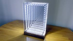 How to Make a <b>Modern LED</b> Infinity Illusion Mirror - YouTube