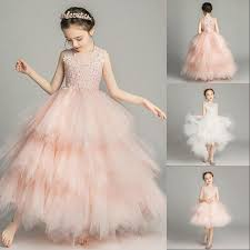 Cheap 2019 <b>Sleeveless</b> Lace A Line Flower Girl Dresses Vintage ...