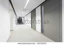 empty bright hall in modern business office business office modern