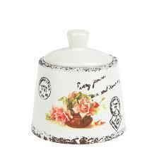 <b>Сахарница ENS GROUP Персиковая</b> роза 200мл керамика ...