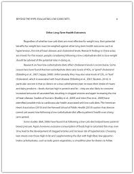 Essay Layout Template  apa research paper format template example     Free Essays and Papers
